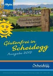 Glutenfreies Scheidegg 2013