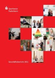 Sparkasse Paderborn Geschäftsbericht 2011 S