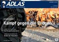 Kampf gegen die Drogen - Adlas - Magazin für Sicherheitspolitik