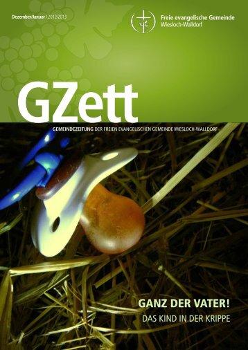 GANZ DER VATER! - FeG Wiesloch-Walldorf