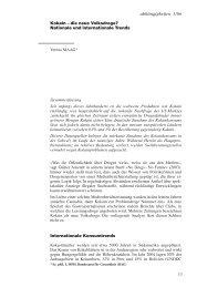 13 abhängigkeiten 1/06 Kokain – die neue Volksdroge? Nationale ...