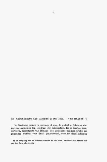 Ontstaan der Grondwet, deel 1. RGP Kleine Serie 1 - Historici.nl
