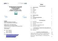 Gynäkologische Onkologie Klinische Studien - wwwuser