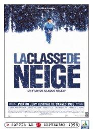 SORTIE LE 23 SEPTEMBRE 1998 - Rhône-Alpes Cinéma