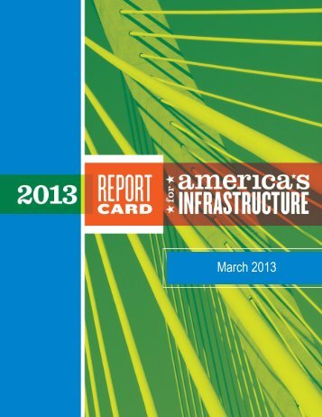 2013 Report Card for America's Infrastructure PDF
