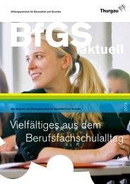 BfGS_aktuell_November 2013 - Bildungszentrum für Gesundheit ...