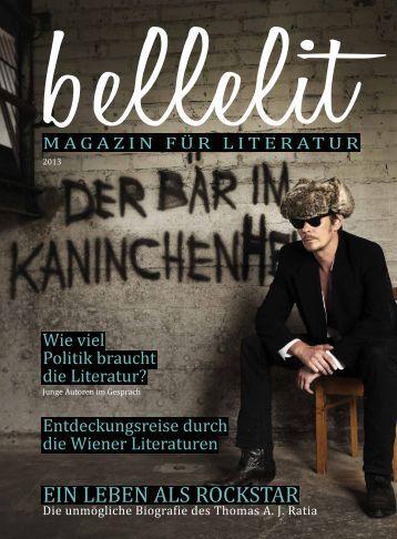 Magazin für Literatur - Edition Atelier