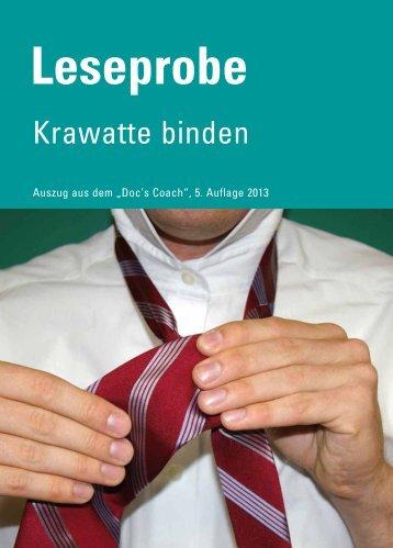 Krawatten binden - Didamed Verlag GmbH