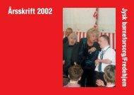 """357-02-008 JBF """"rssk 2002 - Foreningen Jysk Børneforsorg"""