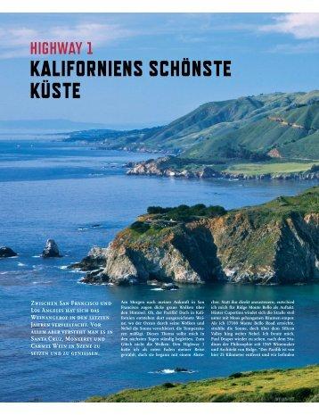 Zwischen San Francisco und Los Angeles hat sich das ... - L'Aventure