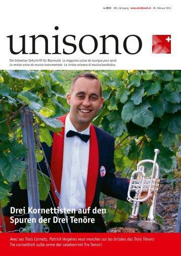 Drei Kornettisten auf den Spuren der Drei Tenöre - Schweizer ...