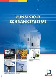 KUNSTSTOFF SCHRANKSYSTEME - Almatec