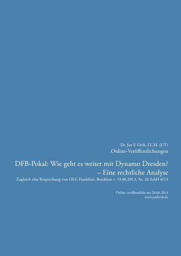 Zur pdf-Version des Beitrags - Dr. Jan F. Orth, LL.M.