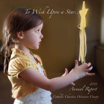 2013 Annual Report - Catholic Charities