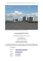 Hausprospekt - Ferienwohnung Columbuscenter Bremerhaven