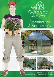 Greenhouses & Accessories - Winter Gardenz