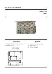 PS5-24V Product Information