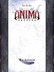 Anima Tactics Web Addendum Vol. 2 - Cipher Studios
