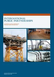 iNVESTMENT ADViSoR'S REPoRT - International Public Partnerships