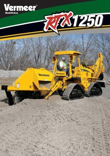 RTX1250 - Vermeer Deutschland GmbH