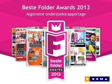 Beste Folder Awards 2013 - Debestefolder.nl