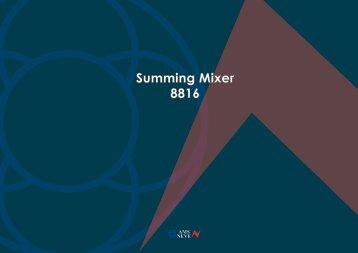 Summing Mixer 8816
