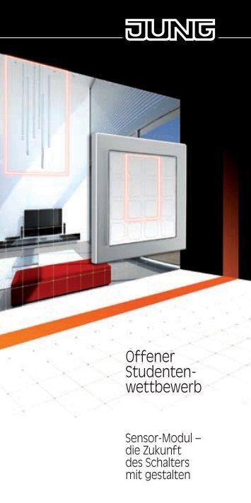 Offener Studenten- wettbewerb - Sensor-Modul Home
