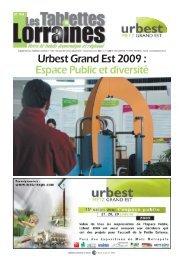 Urbest Grand Est 2009 : Espace Public et diversité - Metz-Expo