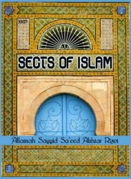 Sects of Islam - Islamic Mobility