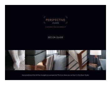 Decor Guide - Perspective: Atlanta - Sunbrella