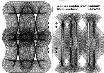 Jahrbuch 1971-1972 - Zeppelin-Gymnasium