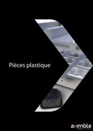 Pièces plastique - Axemble