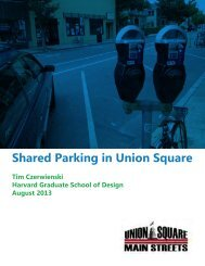 What is shared parking? - Union Square Main Streets