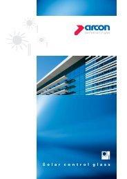 Solar Control Glass - arcon Glas