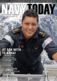 AT SEA WITH TE KAHA! - Royal New Zealand Navy
