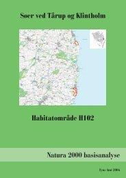 BILAG NATURA 2000 BASISANALYSE til afsnit 2 - Naturstyrelsen