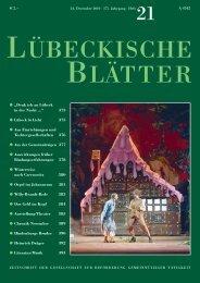 21_LB175.pdf - Lübeckische Blätter