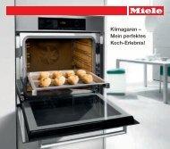 Klimagaren – Mein perfektes Koch-Erlebnis! - Miele