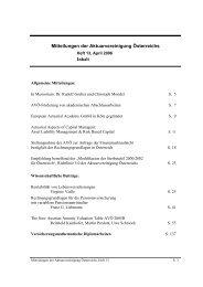 European Actuarial Academy GmbH in Köln gegründet ...