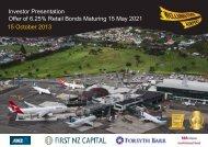 Investor Presentation Offer of 6.25% Retail Bonds Maturing 15 May ...