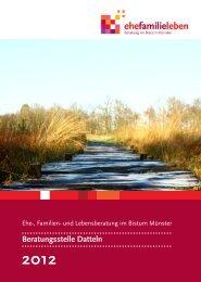 Jahresbericht 2012 Beratungsstelle Datteln - Ehe- Familie- und Leben