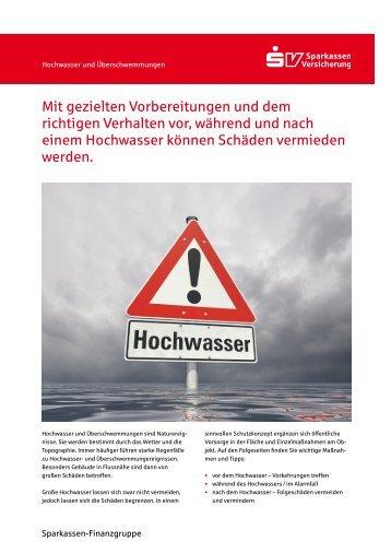 Hochwasser und Überschwemmungen