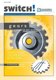 g e a r s - Consistec Engineering und Consulting GmbH