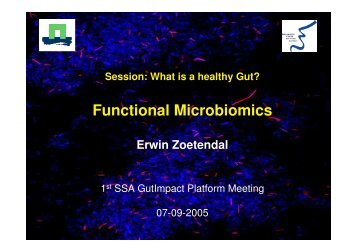 Functional Microbiomics