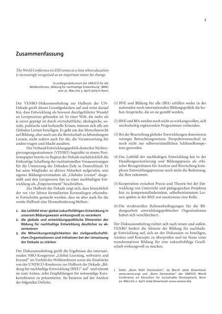 HALBZEIT: Kurskorrekturen auf den Lernwegen zu ... - Venro