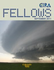 Fellows (PDF) - Cooperative Institute for Research in the ...