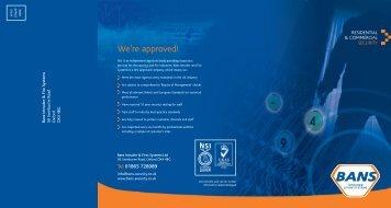 ayout 1 - Bans Intruder & Fire Systems Ltd