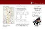 Anfahrtsskizze: Anmeldung Medizin und Klavier