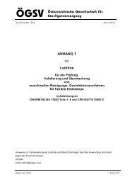 Anhang 1 zur Leitlinie der ÖGSV für die Validierung von RD ...