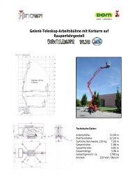 Komplettes Datenblatt als .pdf-Datei herunterladen - JOWEST GbR